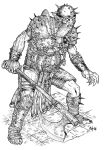 Orc Axeman by Area283