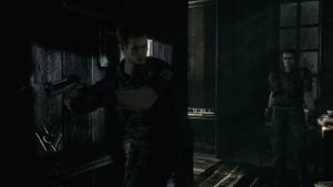 Wesker in shock by WolfShadow14081990
