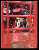 .:.The Red Phone Booth.:. by AquaLilia