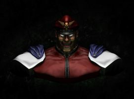 M.Bison Zbrush by Danwhitedesigns