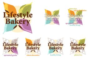 Lifestyle Bakery Logo by RedPaints