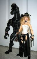 More Outlaw and her Horse by A-J-M-74