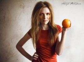 Orange Madness I by Red-passion