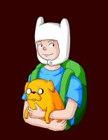 Finn And Jake 01 by Lilnanny