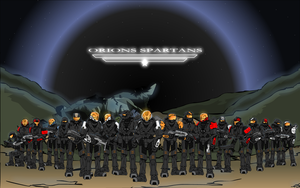 Clan Orions Spartans by Enzero