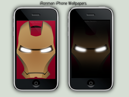 iRonman iPhone Wallpaper by Seifer-Designs