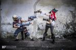 Miss Fortune and Lucian Hired Gun Cosplay by Ka-Xanx21