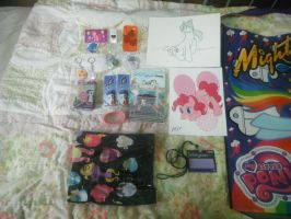 BronyCon 2012 - My Souvenirs I Bought by DestinyDecade