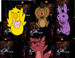 .:Gift:. Five Nights At Freddy's by HappilyInsane99