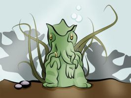 Cthulu by TheBabs
