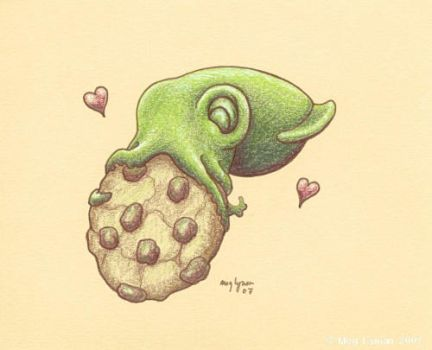 Cookie Squid by MegLyman