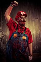 It's-A me-A zombie-Mario by flaming-trout