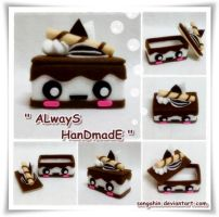 My Cute Chocolate Milk CakeBox by SongAhIn