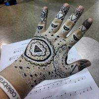 Henna Hand Tattoo by elidn-s