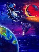 Spaceman by nictey