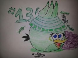 15 Days of Angry Birds New Year: Day 13 by MeganLovesAngryBirds
