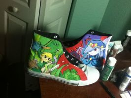 Minish Cap shoes by skinny-artist
