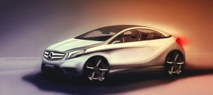Mercedes A-class Coupe by GLoRin26