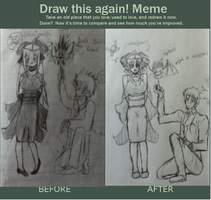 Draw This Again MEME! by AbominalSnowDemon
