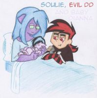 Teh Soulie just had teh babeh by SoulieReborn
