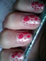 Half dotted by LittleAndzia