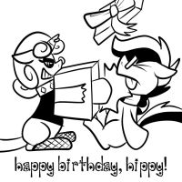 Happy Birthday, Hippy! by Pembroke