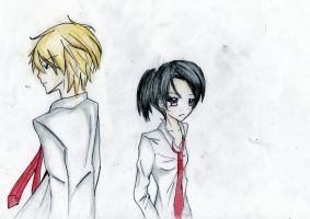 My Version of Misaki and Usui by Hiyoko-riin