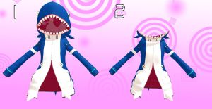 MMD Coat shark Download by 9844