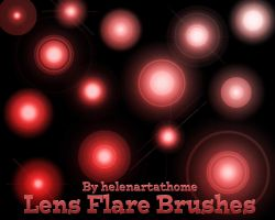 Helens Lens Flare Brushes by Helenartathome