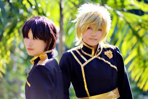 07Ghost: Teito and Mikage by ChinkyAiko