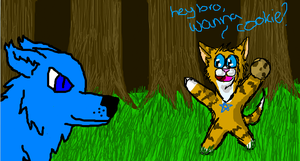 Wanna Cookie? - iScribble by WaterPhoenixWarrior