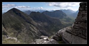 Beinn Alligin, Summit by ExSLR
