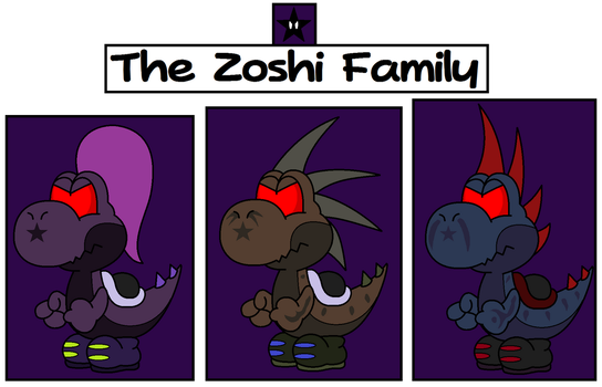 Zoshi Story -REDUX- by TheSpiderManager