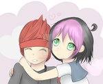 Pippi x Ryuto by CourtiePie567
