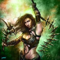 Hottie Warrior 2 by loztvampir3