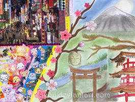 The two faces of Nippon by VanillaChii