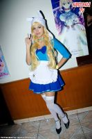 Cosplay Fionna: Adventure Time Maid Version by mercedesbunout