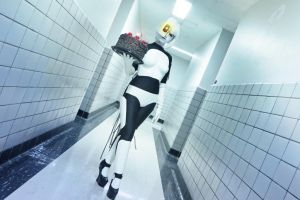 GLaDOS: Welcome to Aperture by ember-ablaze