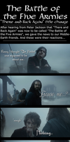 The Battle of the Five Armies? [Part 1] by Sapphire-Arkenstone