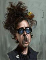 Tim Burton by DevonneAmos