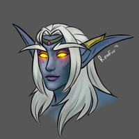Queen Azshara by RenuFur