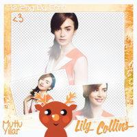 Pack (209) Lily Collins Png Pack by BeautyForeverr