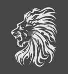 Lion head vector by Ef1m