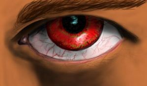 Angry Eye by bl-nkcanvas
