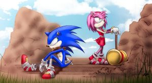 Sonic Boom - Hard to Get by BubblesRRJ