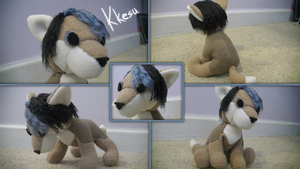 Plushie Commission: Kkesu DeTroja by Ice-Artz