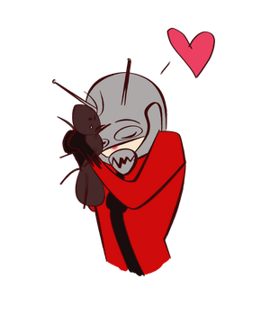 Antman doodle by TorixSkye