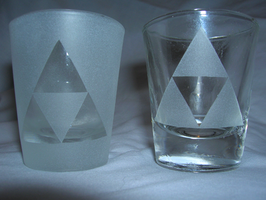 Legend of Zelda Shotglasses by Megablob