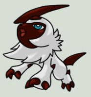 Shiny Absol Mascotte by Sey-Sey