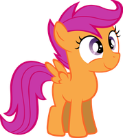 Scootaloo by ForsakenSharikan